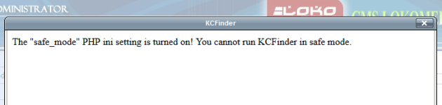 mengatasi safe mode on kcfinder